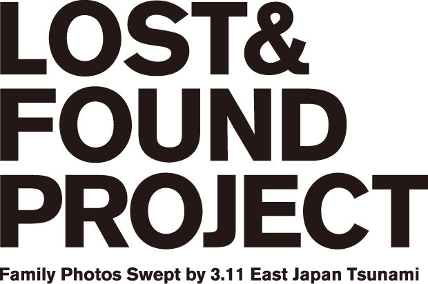 LOST & FOUND PROJECT       Family Photos Swept by 3.11 East Japan Tsunami